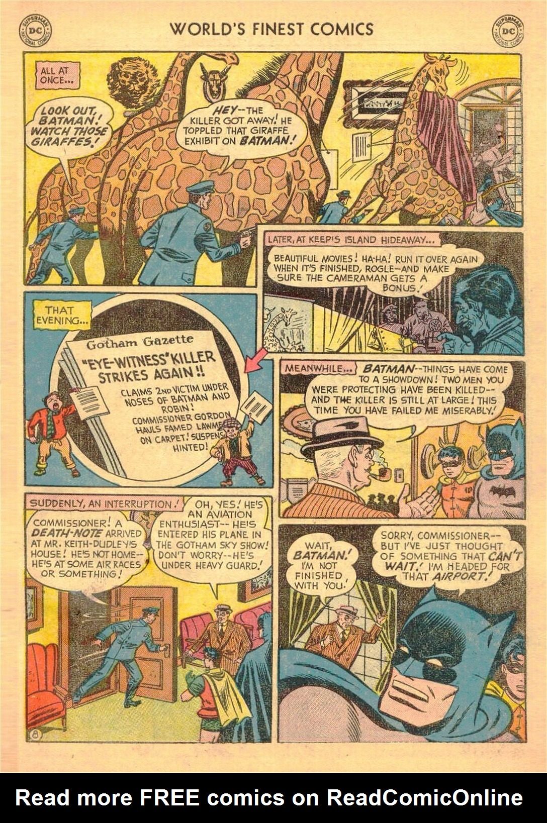 Read online World's Finest Comics comic -  Issue #58 - 61