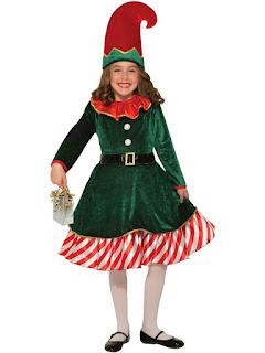 Santa Little Elf Costume