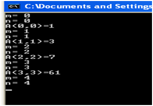 Exercice corrigé de la fonction d'Ackermann ~ computer ...