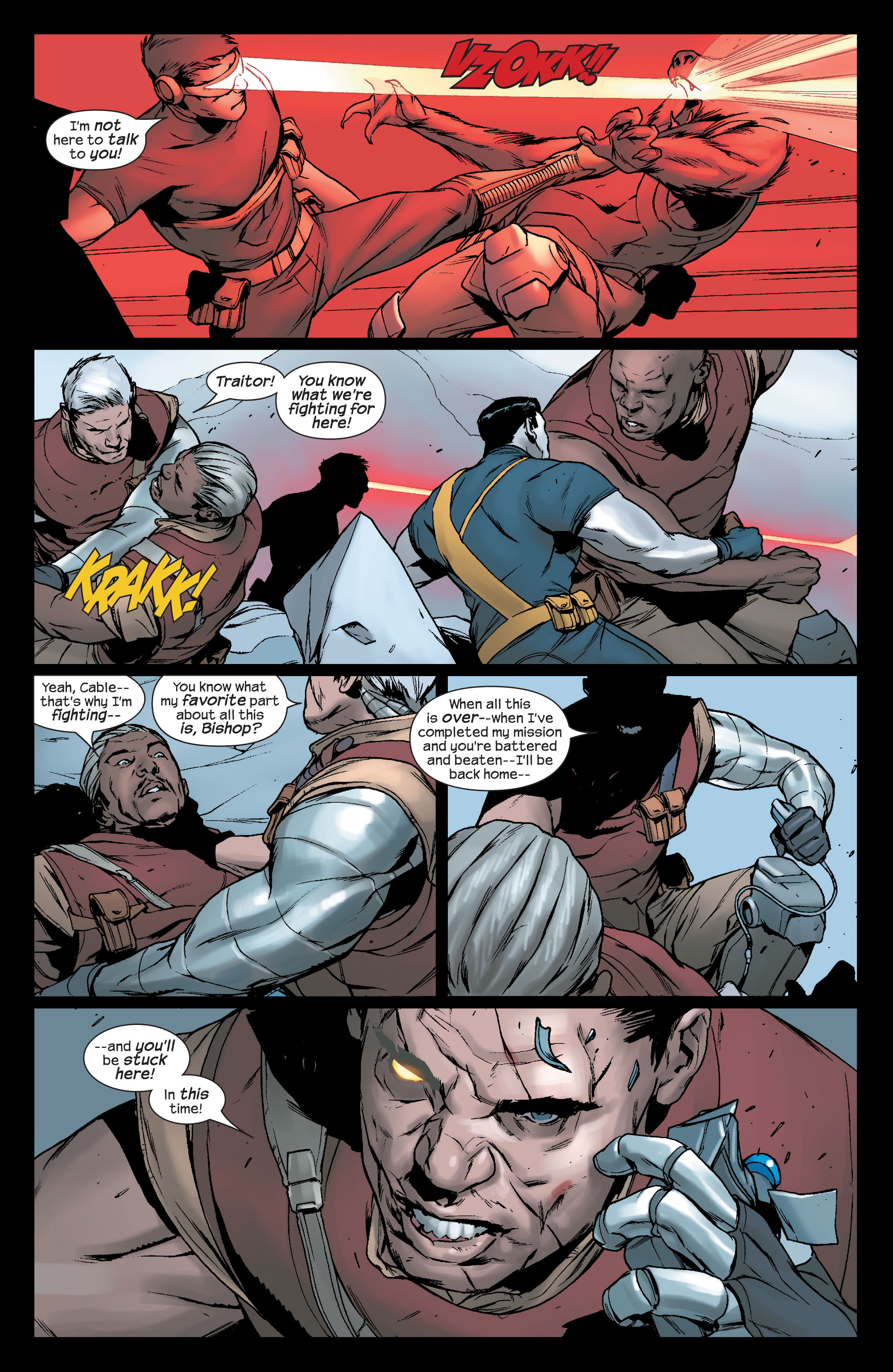 Read online Ultimate X-Men comic -  Issue #78 - 8