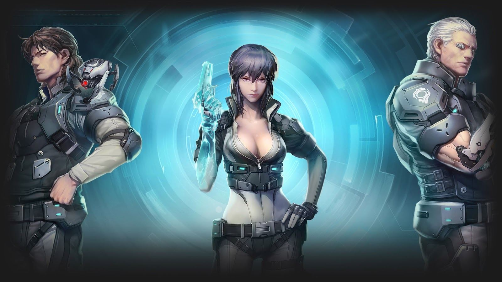 Ghost in the Shell First Assault: Stand Alone Complex  Gets Brand New CG Trailer For Game Relaunch