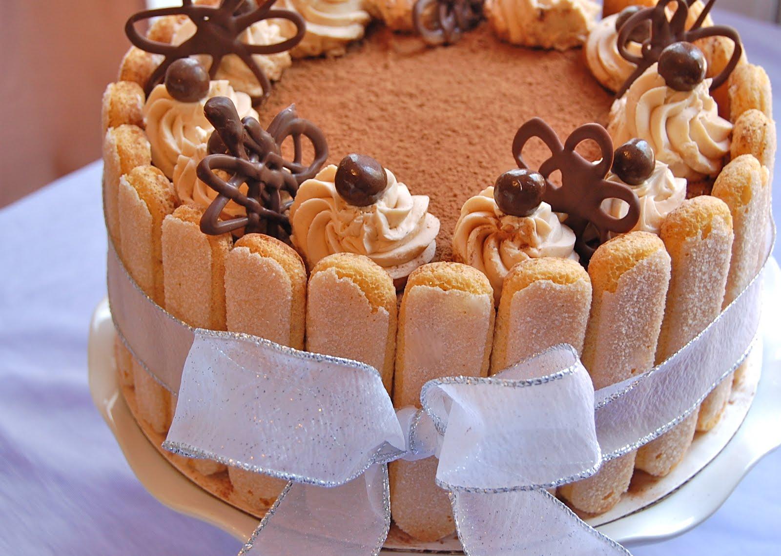 Chef Mommy Tiramisu Layer Cake