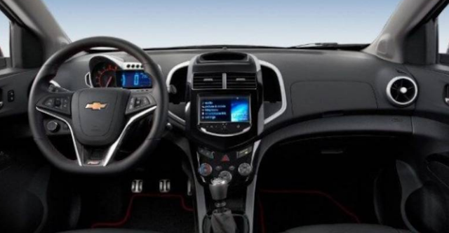2017 Chevrolet Sonic Interior