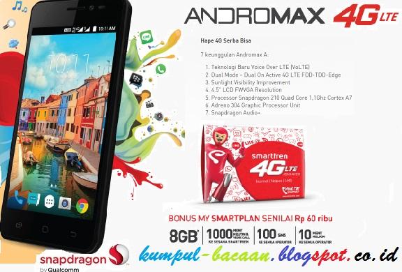 Daftar Merek Dan Tipe Hp Android 4G LTE 500ribuan Dengan