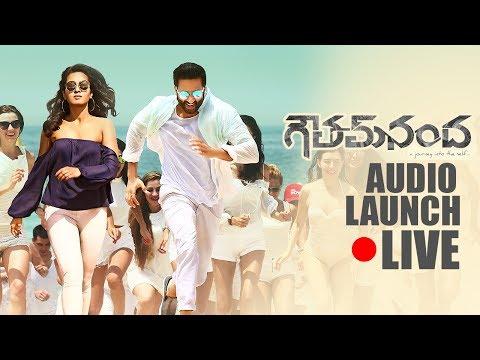 Goutham Nanda Movie Audio launch live