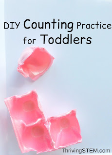 Here's a free, super simple counting activity that your toddler will love!