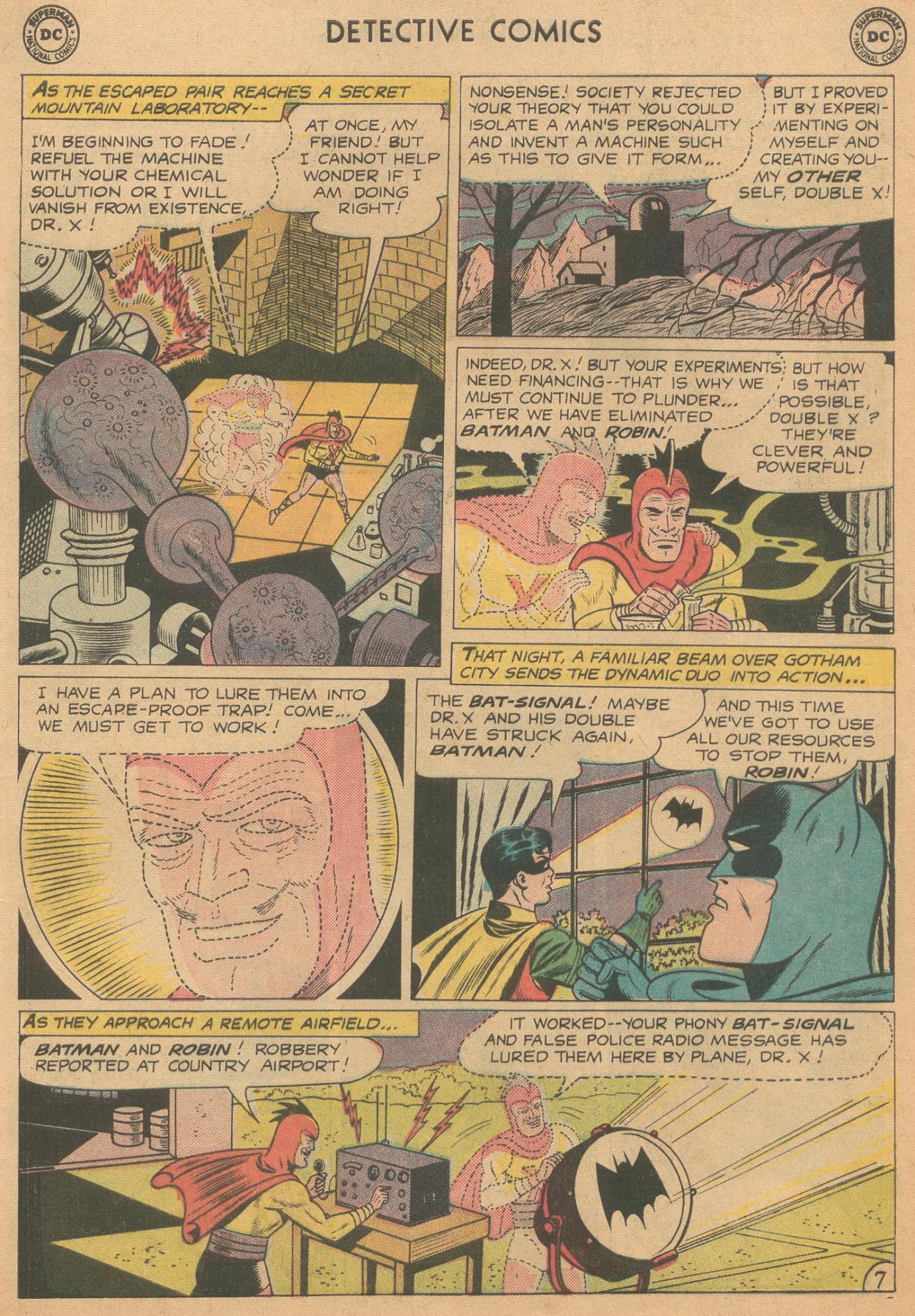 Read online Detective Comics (1937) comic -  Issue #261 - 9