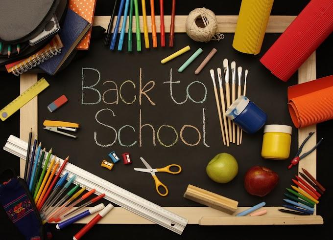 Persediaan Barang Sekolah Untuk Anak Masuk Tahun 1