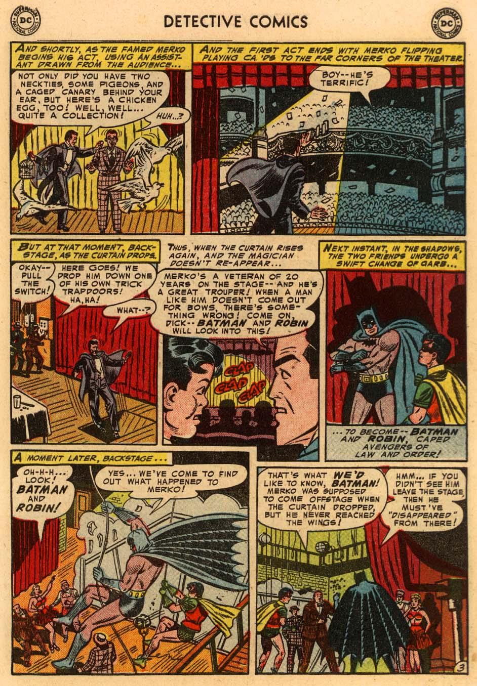 Detective Comics (1937) 207 Page 3