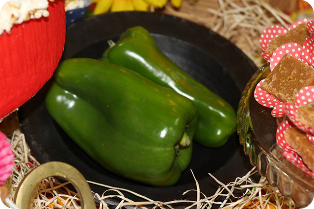 Decoração de Festa Caipira - Junina : Pimentão
