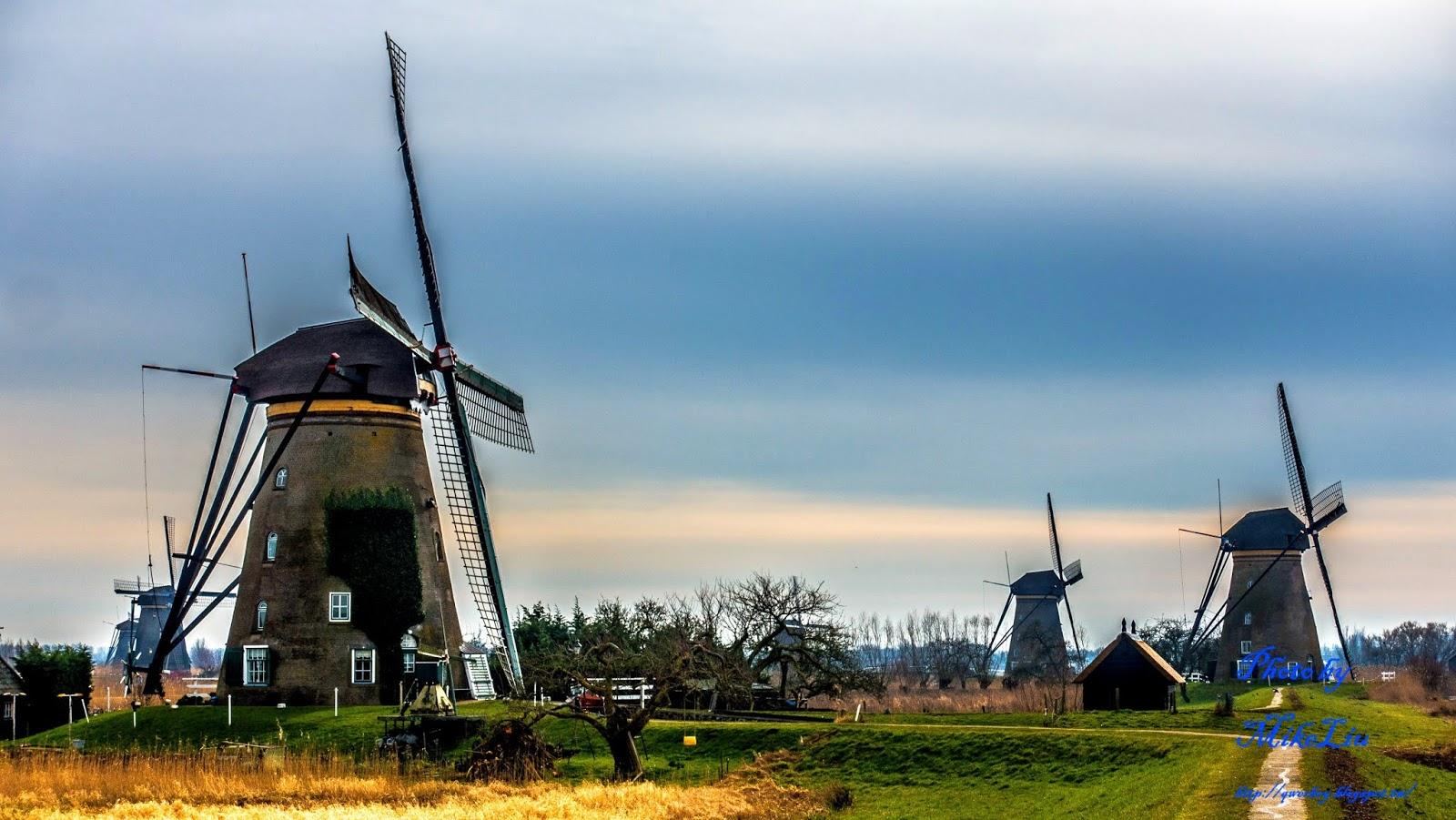 小孩堤防Kinderdijk*必去世界遺產景點 - 麥克愛旅行