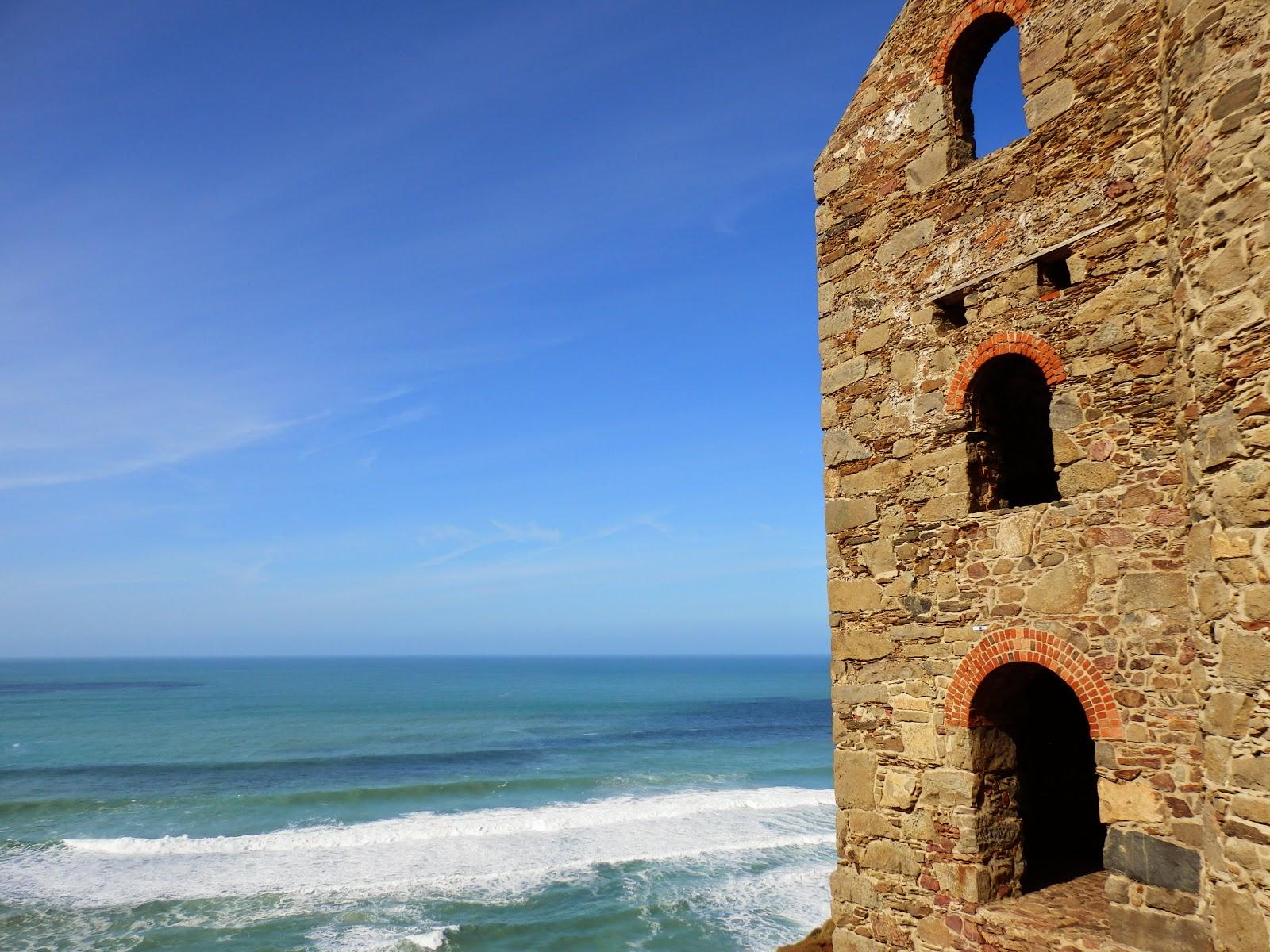 Atlantic view from Cornwall coast path