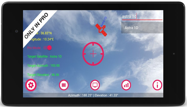 Satellite Pointer PRO Apk free Download