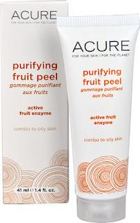 Acure Organics Purifying fruit peel Vitacost iHerb
