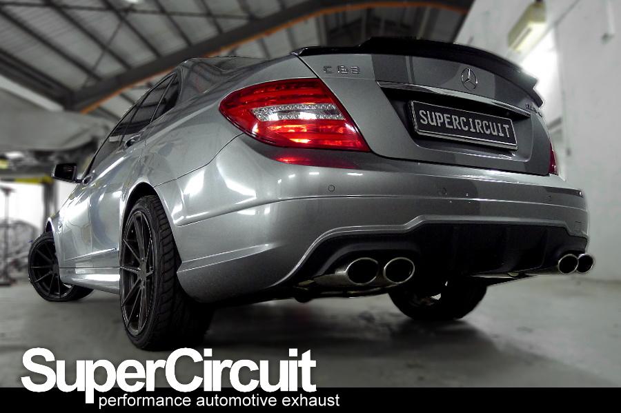 Mercedes Benz C250 W204 Downpipe: Mercedes C250 Exhaust At Woreks.co