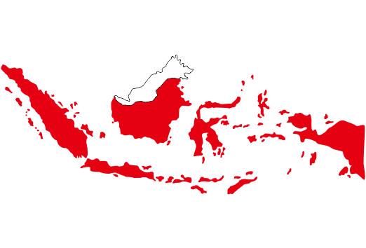 Vektor Peta Pulau Indonesia Cdr dan Ai