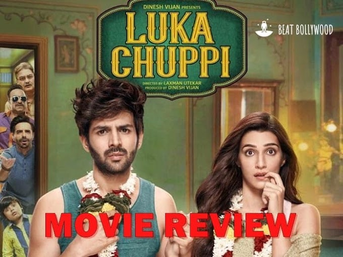 Luka Chuppi Movie Review - Kartik Aryan and Kriti Sanon starrer movie is a chaos of Live in Relationship comedy drama