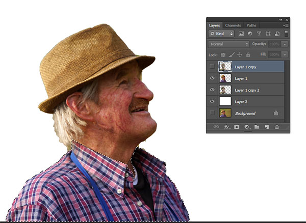 how to make a silhouette from a photo in photoshop