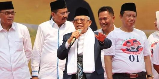 3 Hari Safari di Sumut, Ma'ruf Amin Yakin Ambil Alih Basis Suara Prabowo