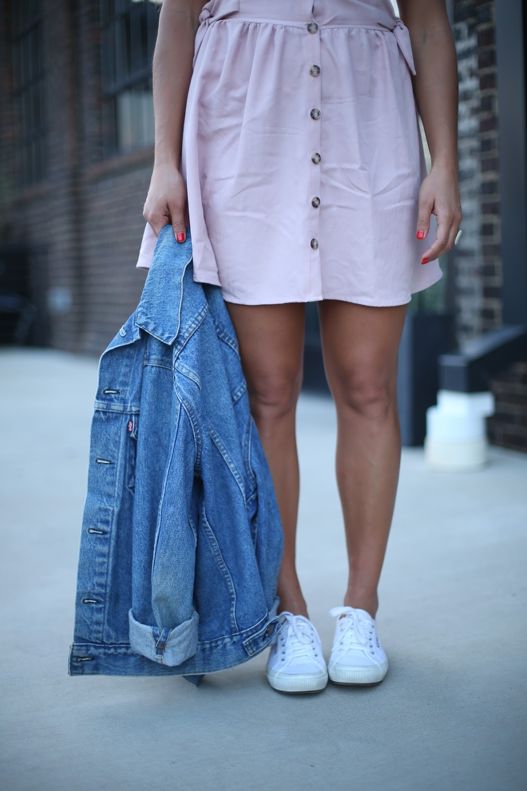 Priya the Blog, Nashville fashion blog, Nashville fashion blogger, Nashville style blog, Nashville style blogger, Superga trainers, white tennis shoes, blush linen Zara dress, oversized vintage jean jacket, vintage jean jacket, vintage jean jacket for Summer,