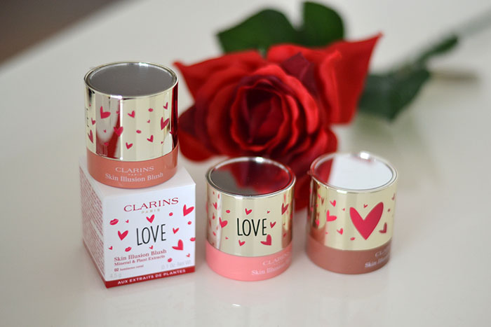 limited edition san valentino clarins
