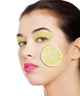 Memutihkan Kulit dengan Lemon