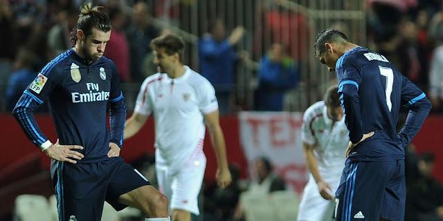 Video Cuplikan Gol Real Madrid 2-3 Sevilla   Liga Spanyol Pekan 37