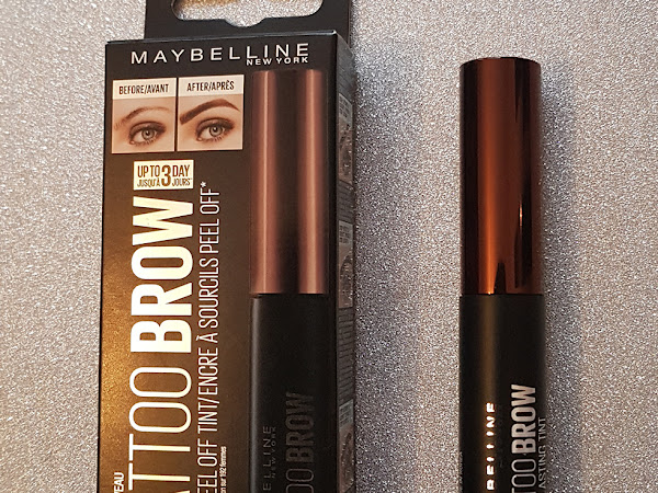 Maybelline Tattoo Brow Easy Peel Off Tint | Review