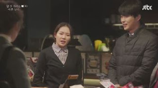 Sinopsis Pretty Noona Who Buys Me Food Episode 2 Part 2