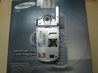Samsung Jadul SGH-P730 Baru Tapi Bermasalah