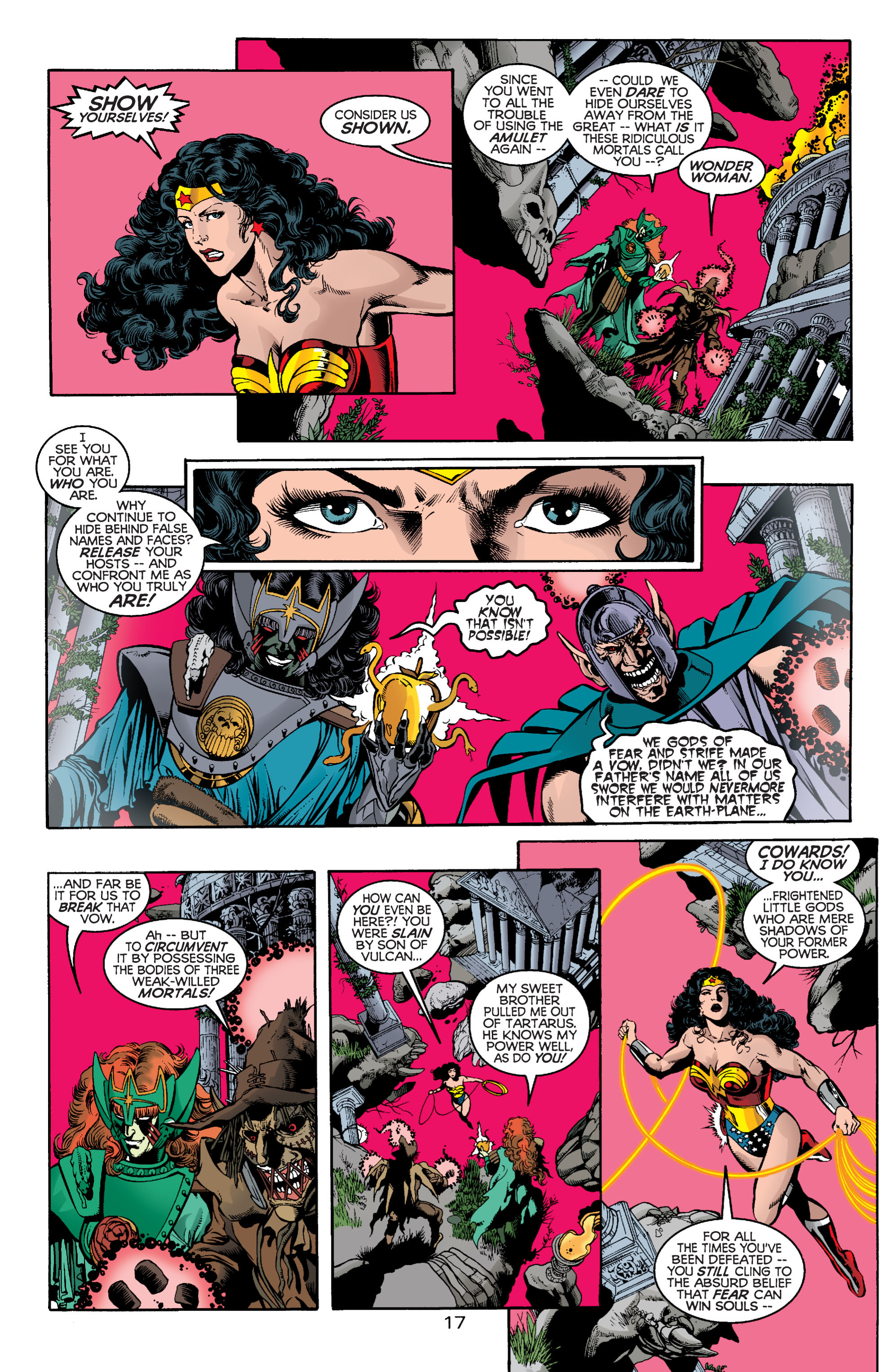 Read online Wonder Woman (1987) comic -  Issue #164 - 17