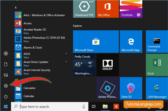 Cara menerapkan tampilan mode gelap pada windows 10