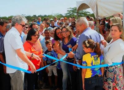 Ricardo inaugura escola que beneficia mais de 200 estudantes de SSU