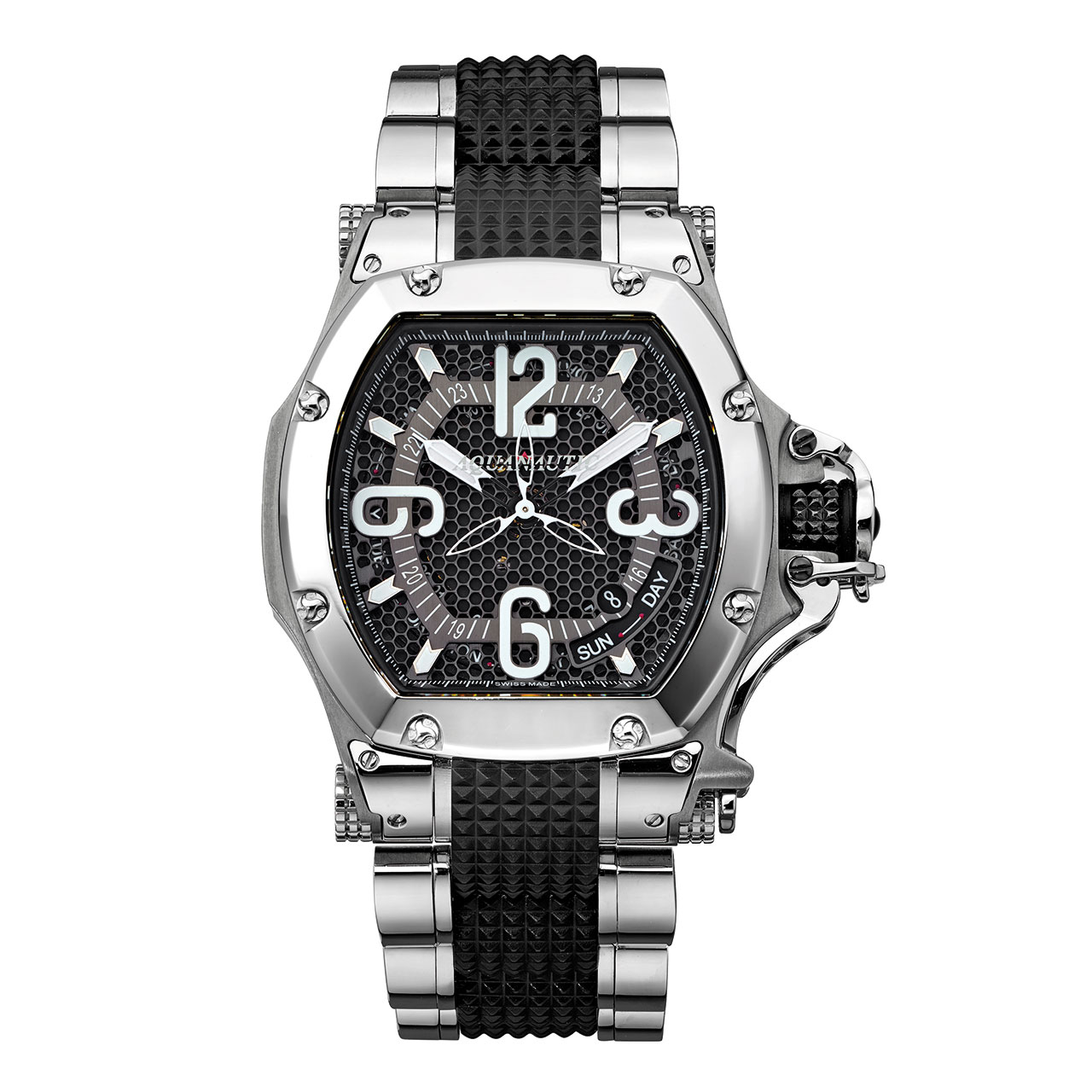 Aquanautic King Tonneau 3H Automatic Watch