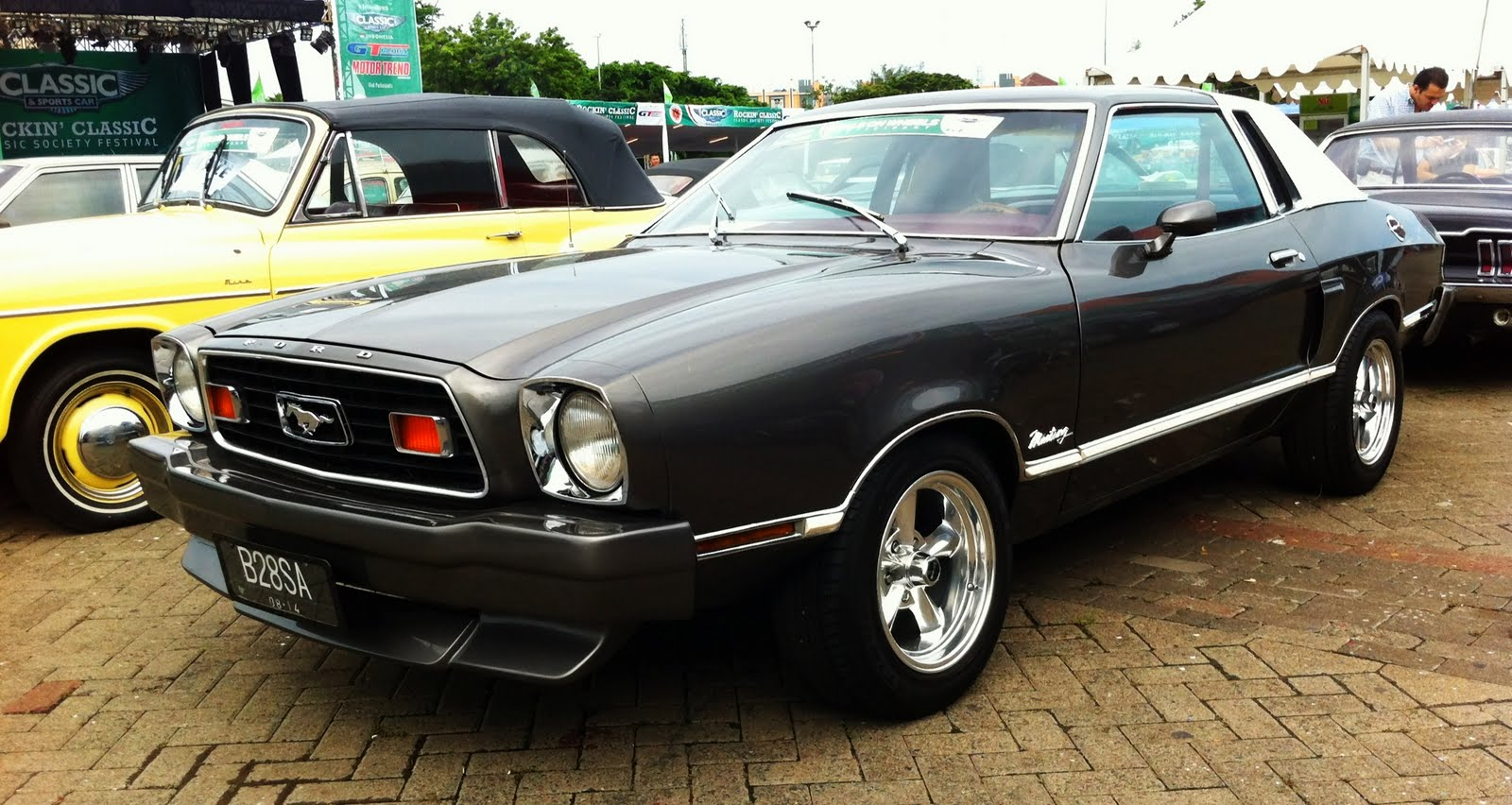 Classic Ford Mustang In Indonesia