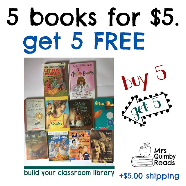 Children's literature, teaching literacy, resources to use with real books, mrsquimbyreads