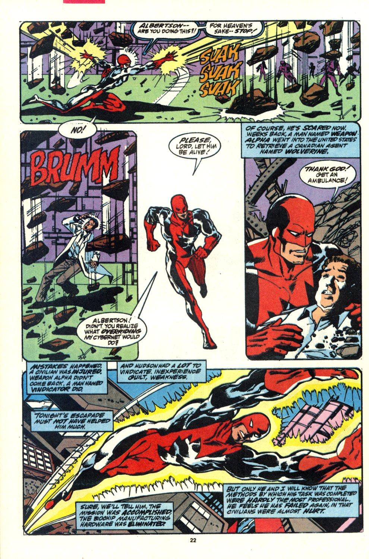 Read online Alpha Flight (1983) comic -  Issue #92 - 17