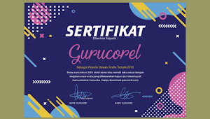 Sertifikat CDR KREATIF Keren 2019