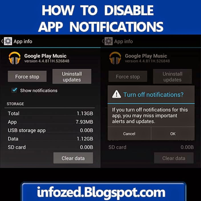 How to Disable App Notifications in Android Phone