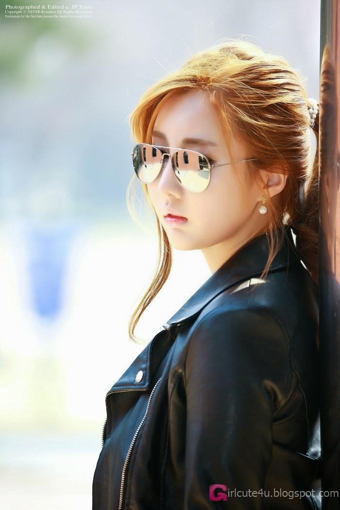 Shin Se Ha - Sweaters  Leather  Cute Girl - Asian Girl-8102