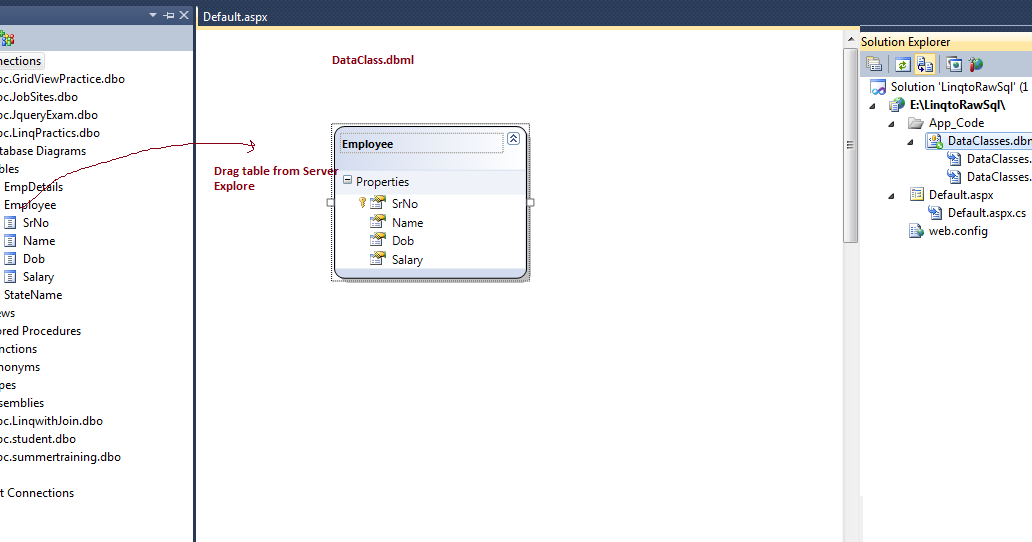 Dataset to list c using linq