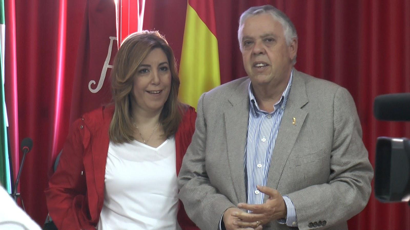 EL PSOE LOCAL CELEBRÓ EL 1 DE MAYO ACOMPAÑADO POR SUSANA DÍAZ