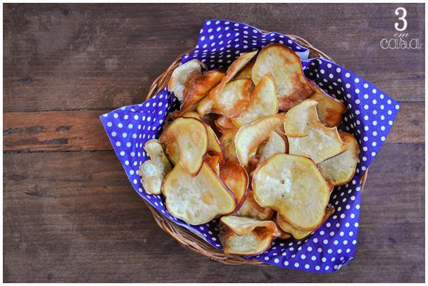 chips batata doce receita
