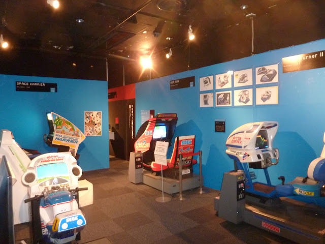 Sega / Yu Suzuki exhibit area