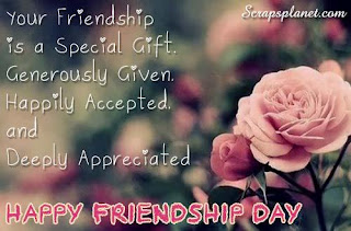 Special friendship day quotes 1
