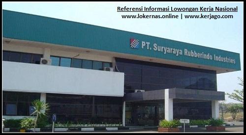 Peluang Kerja di PT Suryaraya Rubberindo Industries Cileungsi Bogor (Lulusan SMA/SMK/Setara)