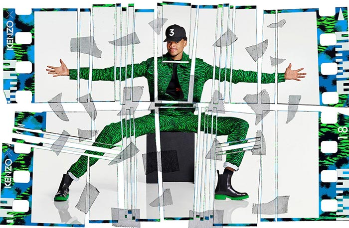 Kenzo x H&M Campaign 2016