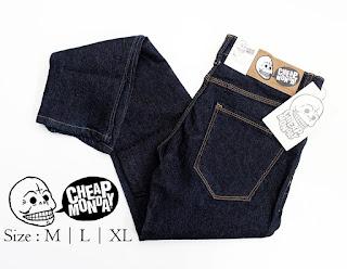 Celana Jeans Pria Cheap Monday Hitam