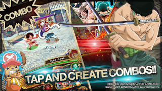 Line : One Piece Treasure Cruise MOD v4.2.0 Apk (Unlimited Mode + High Attack) Terbaru 2016 2