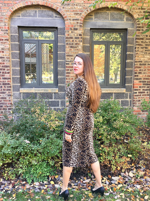 vixen by micheline pitt leopard wiggle dress review